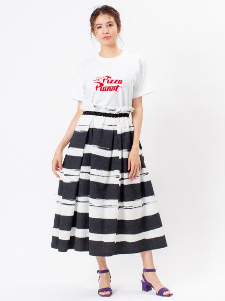 PIZZA PLANET ロゴTシャツ  WHITE
