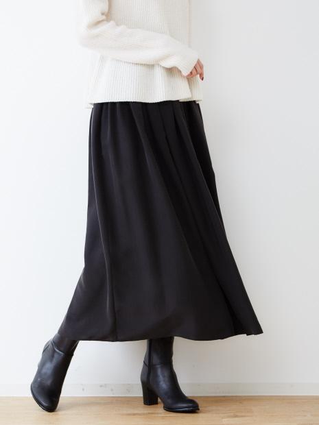 シルク羽二重サンドウォッシュスカート