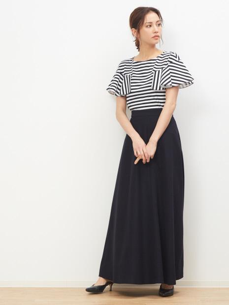 ポンチロングスカート