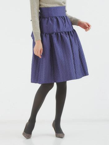 DESIGNWORKS (Ladie's) - フクレジャカードスカート