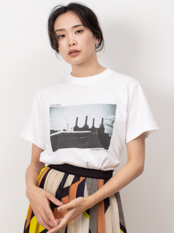 DESIGNWORKS (Ladie's) - London Battersea Power Station Tシャツ