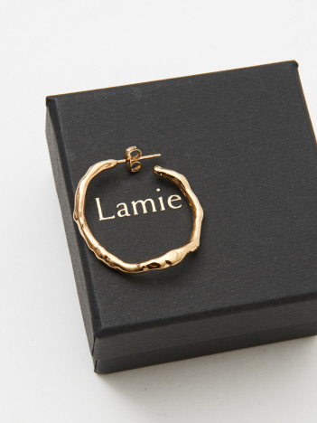 DESIGNWORKS (Ladie's) - Lamie Melts ピアス M ゴールド