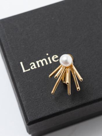Lamie Down Spark イヤリング S ゴールド