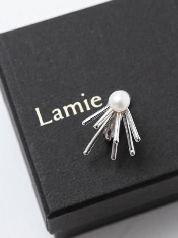 Lamie Down Spark イヤリング S シルバー