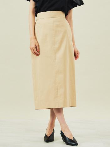 DESIGNWORKS (Ladie's) - コットンシルク ツイルグログランスカート