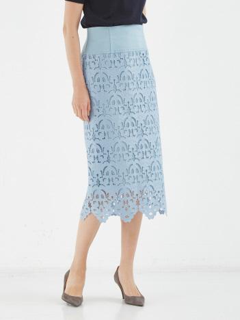エンブロイダリーレーススカート