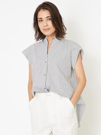 DESIGNWORKS (Ladie's) - ノースリーブコットンシャツ