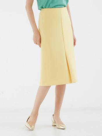 DESIGNWORKS (Ladie's) - ニットジョーゼットボンディングスカート