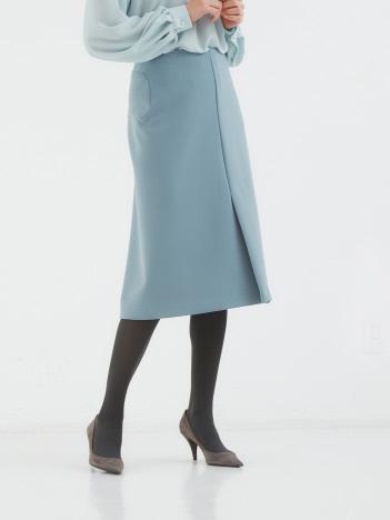 ニットジョーゼットボンディングスカート