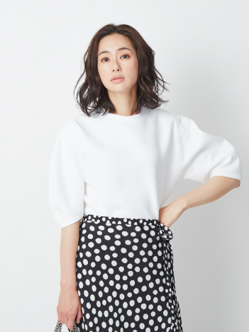 DESIGNWORKS (Ladie's) - フクレジャージープルオーバーTシャツ【予約】