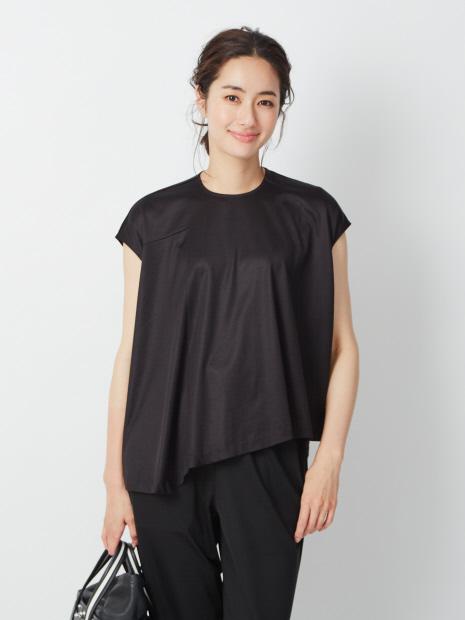 アシンメトリープルオーバーTシャツ