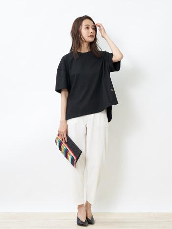 度詰め(40/2)天竺Tシャツ