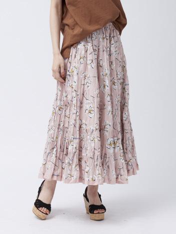 DESIGNWORKS (Ladie's) - MARIHA 草原の虹のスカート Big Bouquet