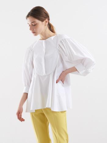 DESIGNWORKS (Ladie's) - 袖プリーツシャツ