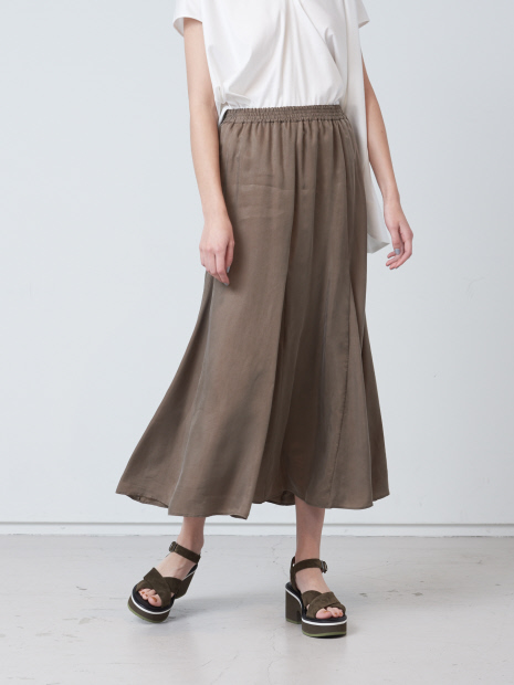 キュプラフレアスカート
