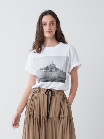 P.M.Ken Mont-Saint-Michel.GunkanJima T-shirt
