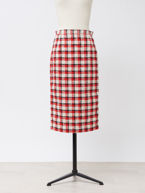 N゜21 ツイードスカート