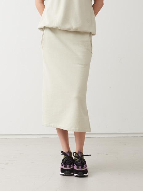 Aライン裏毛スカート