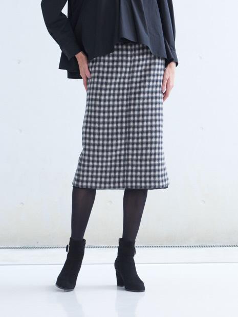 N゜21 チェックタイトスカート