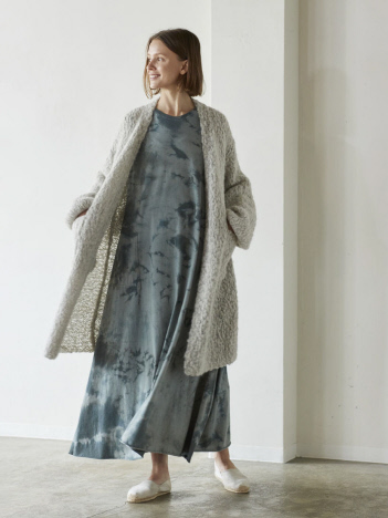 WALANCE Alpaca hand knit cardigan