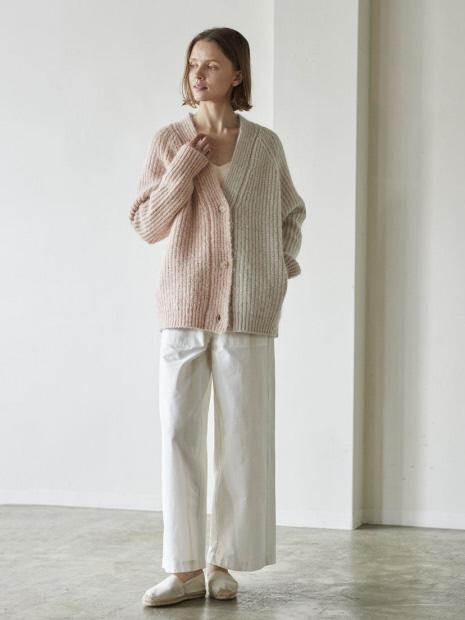 WALANCE Nohair mix wool cardigan