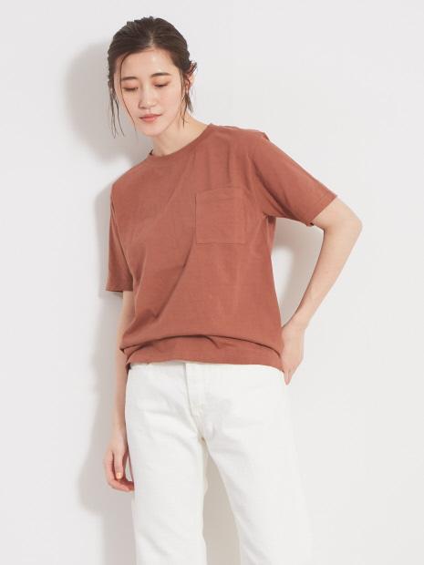 ピースダイコットンTシャツ