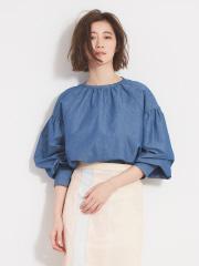Abahouse Devinette - クリスプインディゴシャツ【予約】
