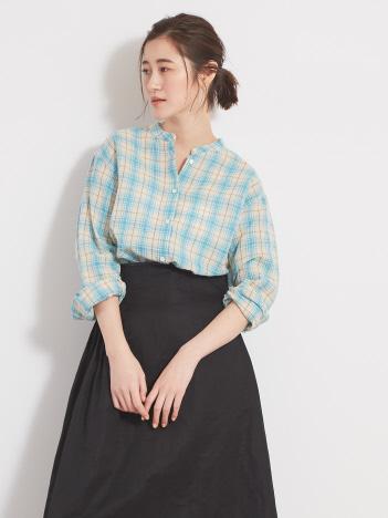 ラミーチェックシャツ