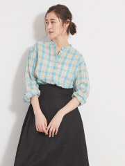36 Quatre-Neuf - ラミーチェックシャツ【予約】