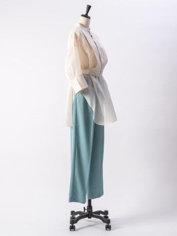 36 Quatre-Neuf - 【beautifulpeople】シルクオーガンジーシャツ