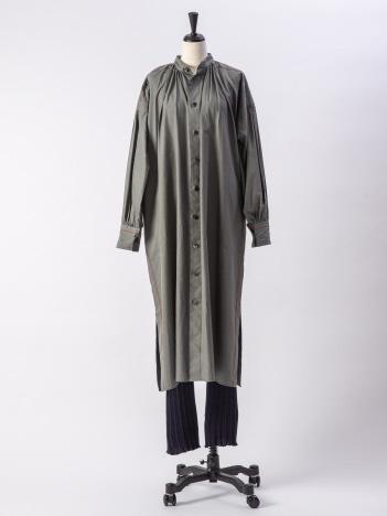 【beautifulpeople】コットンシルクローンギャザーシャツドレス