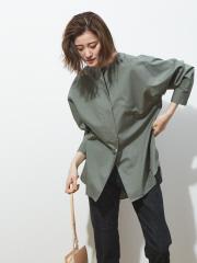 36 Quatre-Neuf - サマーブロードノーカラーシャツ【予約】