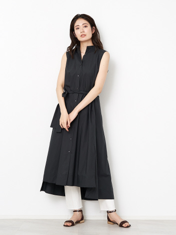 【20SS】カラーブロードワンピース