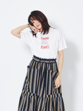 36 Quatre-Neuf - RoseannaARTISTE ロゴTシャツ