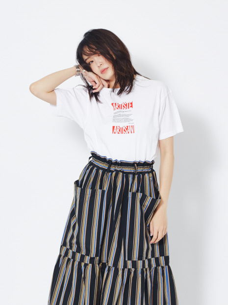 RoseannaARTISTE ロゴTシャツ
