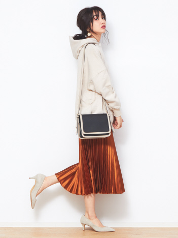 Natalie/ボックスミニショルダーバッグ