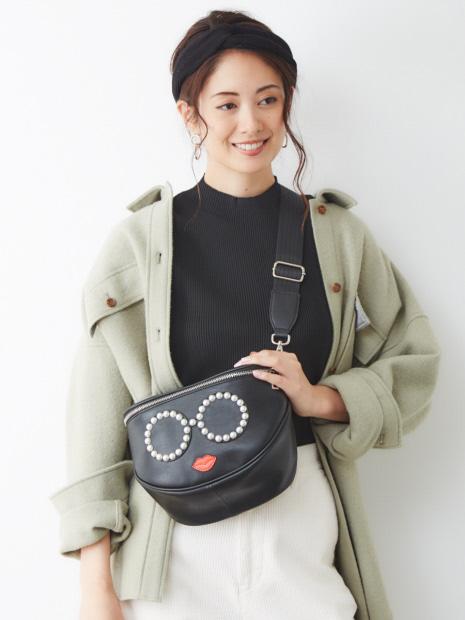 ★a-jolie/サングラススマイルショルダー/ボディバッグ【予約】