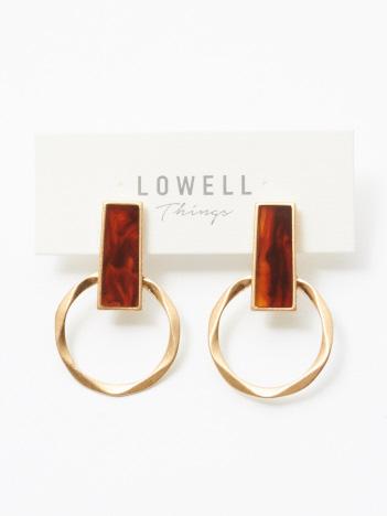 LOWELL Things - ★H/リングコンビイヤリング