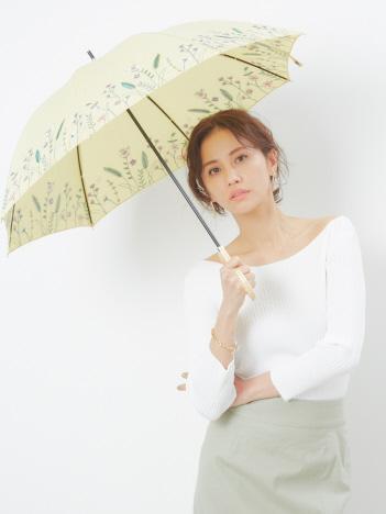 ★折りたたみ傘/フラワーブルームイエロー