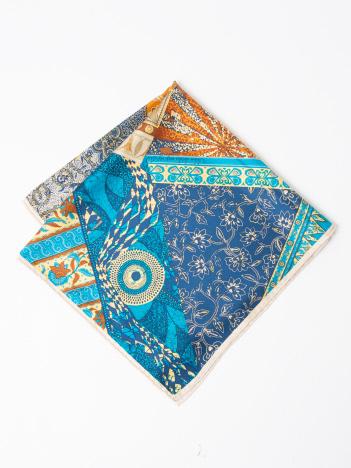 LOWELL Things - ★manipuri/BATIK スカーフ