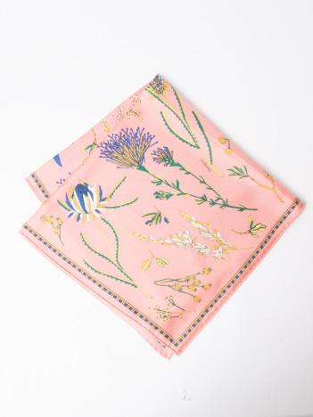LOWELL Things - ★manipuri/Native flower スカーフ