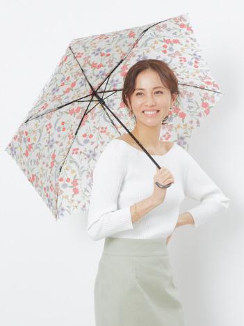 ★折りたたみ傘/ボタニカルフラワーミニ