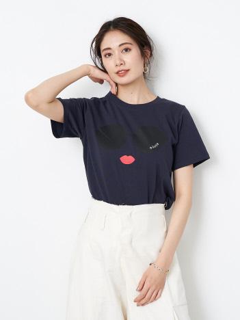 ★a-jolie/サングラスTシャツ
