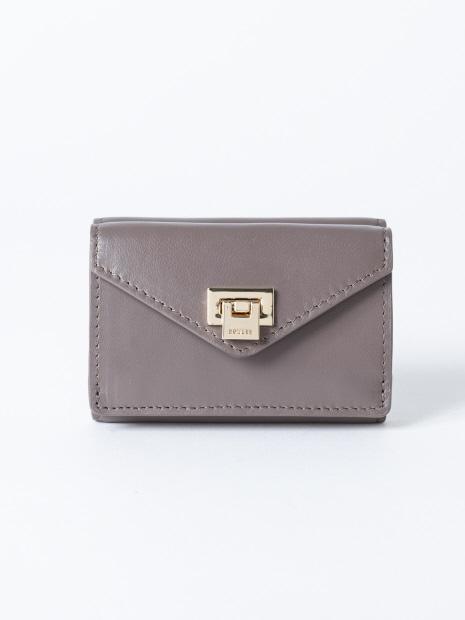 【秋冬新作】薄型三つ折り財布