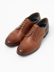 alfredoBANNISTER (MEN'S) - 【2WAY】踏み履きブローグストレートチップシューズ