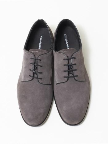 alfredoBANNISTER (MEN'S) - 【極上の柔らかさ】踏み履きソフトレザープレーントゥシューズ