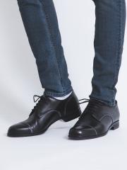 アルフレッド・バニスター (メンズ) 【極上の柔らかさ】踏み履きソフトレザーストレートチップシューズ