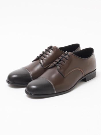 alfredoBANNISTER (MEN'S) - 【極上の柔らかさ】踏み履きソフトレザーストレートチップシューズ