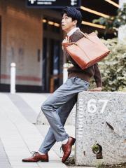 【SEEKER別注】レザートートバッグ
