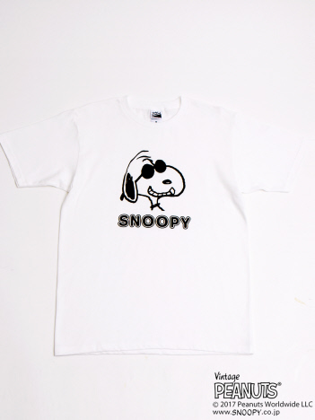 OUTLET (Ladie's) - AuBANNISTER×SNOOPY Tシャツ
